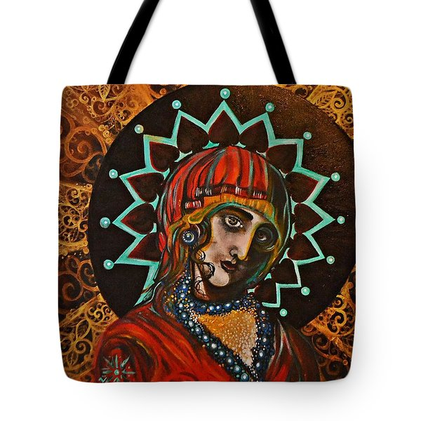 Lady Of Spades Tote Bag