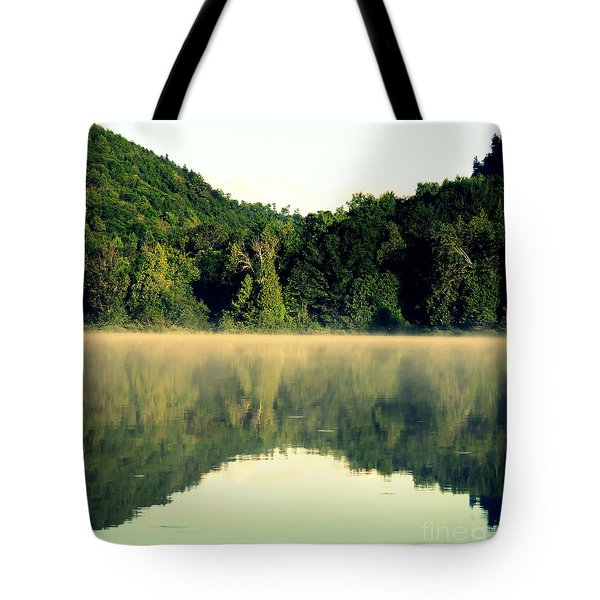 Tote Bag featuring the photograph Lake by France Laliberte