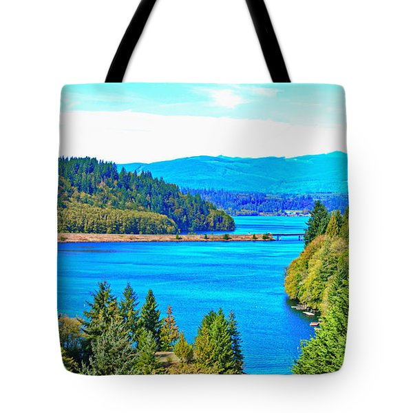 Lake Mayfield Tote Bag