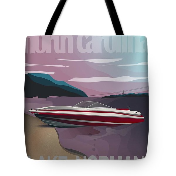 Lake Norman Poster  Tote Bag