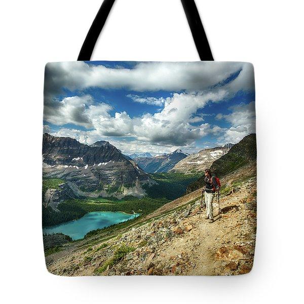 Lake O'hara Adventure Tote Bag