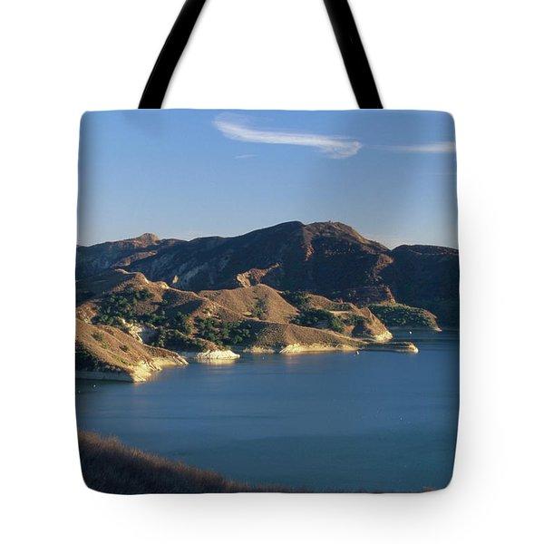 Lake Piru Tote Bag