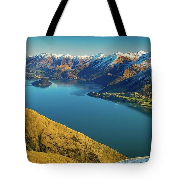 Lake Wanaka Tote Bag by Martin Capek
