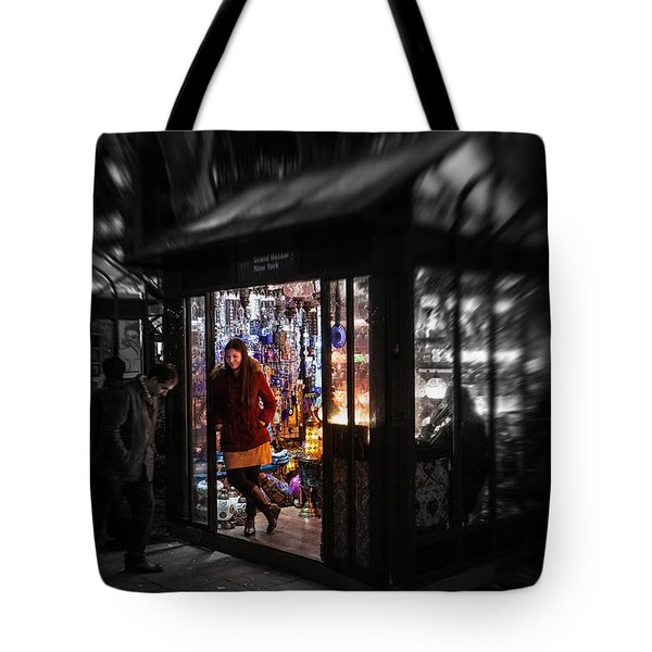 Tote Bag featuring the photograph Lamp Shop by Ross Henton