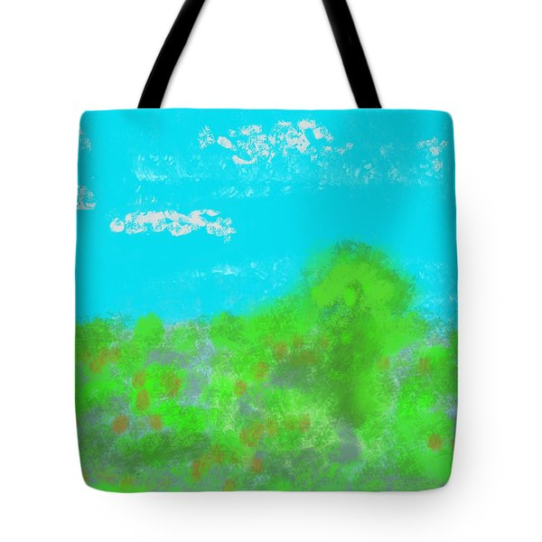 Landscapes Of The Past Tote Bag