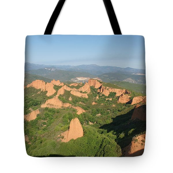 Tote Bag featuring the photograph Las Medulas by Christian Zesewitz