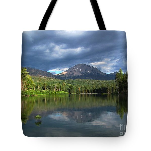 Lassen Peak  Tote Bag by Irina Hays