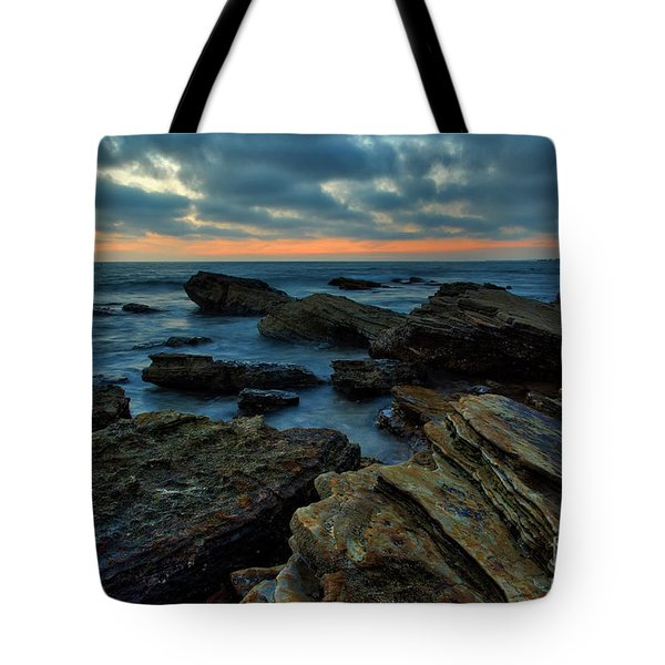 Last Light At Crystal Cove Tote Bag