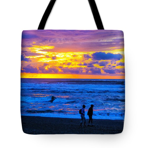 Tote Bag featuring the photograph Last Light by Rick Bragan