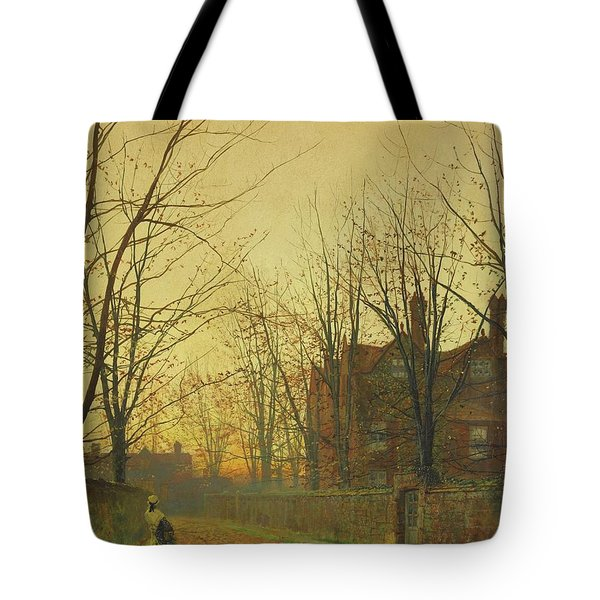 Late October Tote Bag