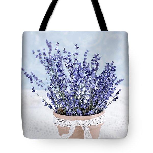 Lavender Tote Bag by Stephanie Frey