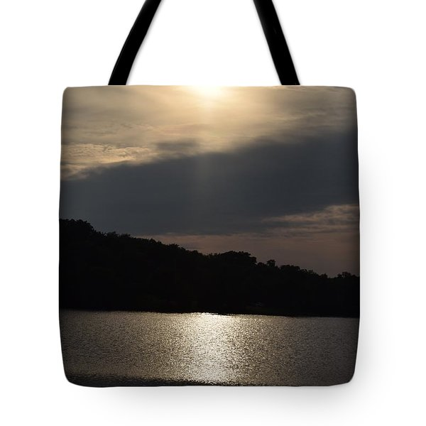 Lazy Day At The Lake Tote Bag