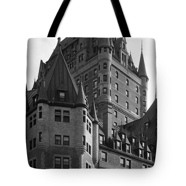 Le Chateau Tote Bag by Juergen Weiss