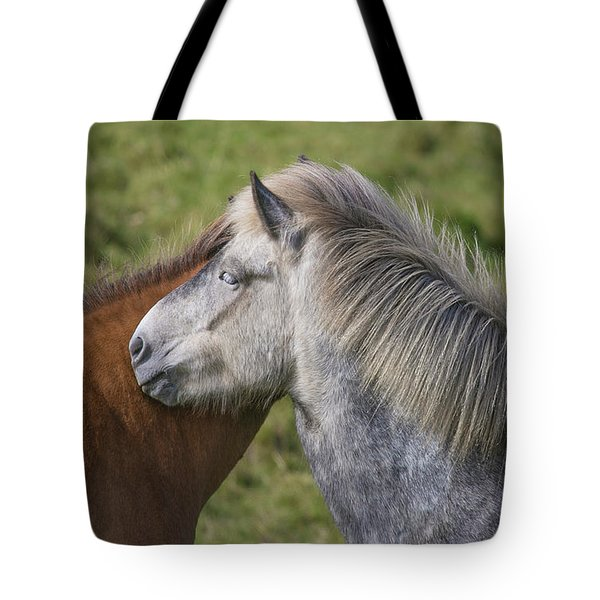 Tote Bag featuring the photograph Lean On Me by Elvira Butler