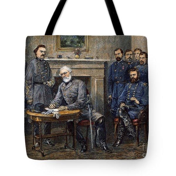 Lees Surrender, 1865 Tote Bag by Granger