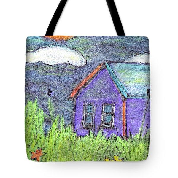 Left Behind Tote Bag by Wayne Potrafka