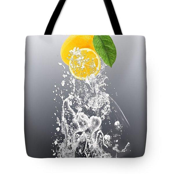 Lemon Splast Tote Bag