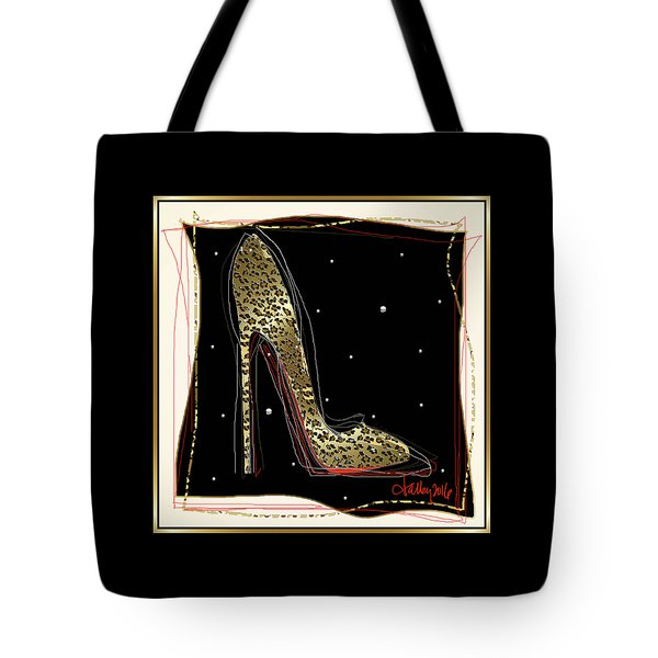 Leopard Louboutin Tote Bag