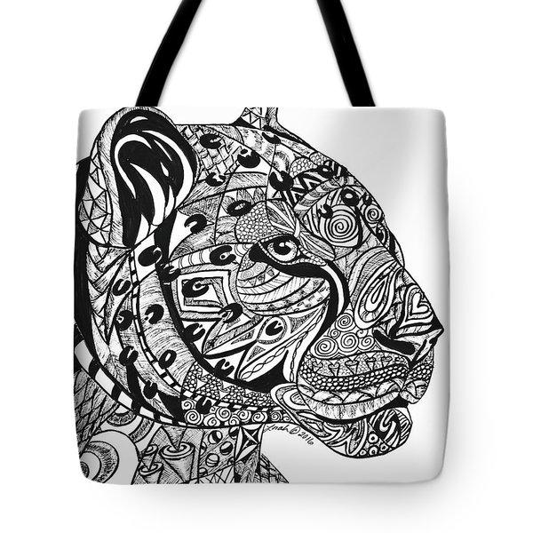 Leopards Tote Bag