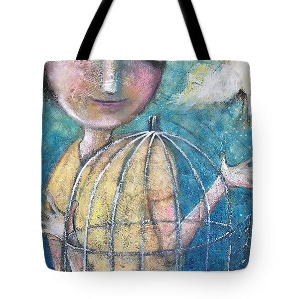 Let It Go Tote Bag by Eleatta Diver