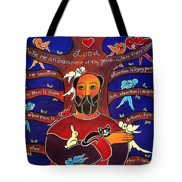 Let Me Sow Love Tote Bag