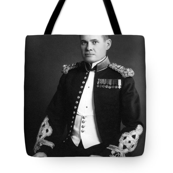 Lewis Chesty Puller Tote Bag by War Is Hell Store