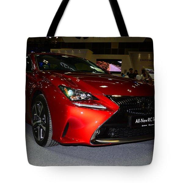 Lexus Rc Turbo Tote Bag