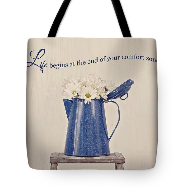 Comfort Zone Tote Bag