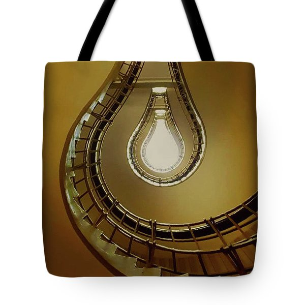 Light Bulb Staircase Tote Bag