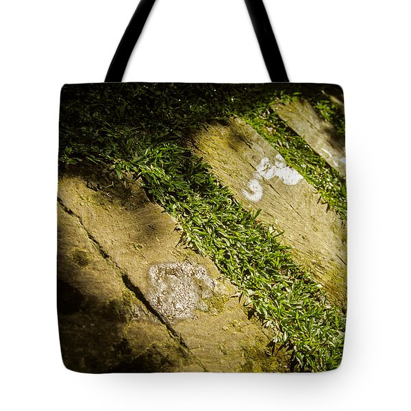 Light Footsteps In The Garden Tote Bag