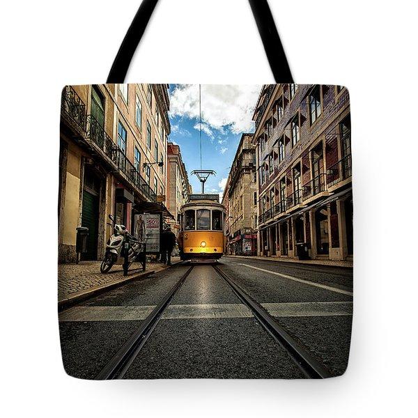 Light Tote Bag by Jorge Maia