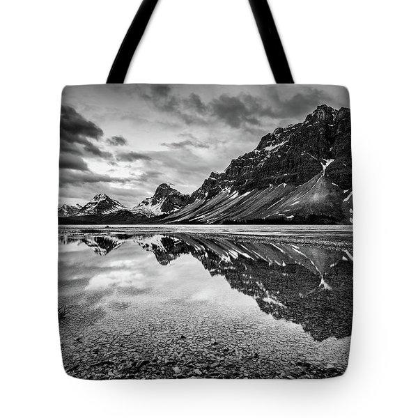 Light On The Peak Tote Bag by Jon Glaser