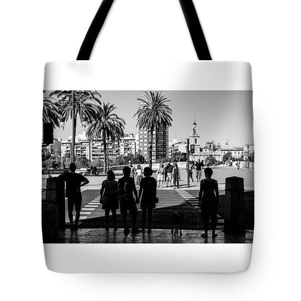 Light Or Dark. Valencia, Spain  #fuji Tote Bag