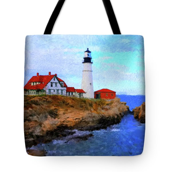 Lighthouse Tote Bag by Gary Grayson