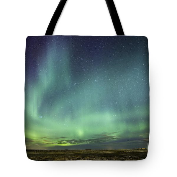 Lights And Motion Tote Bag