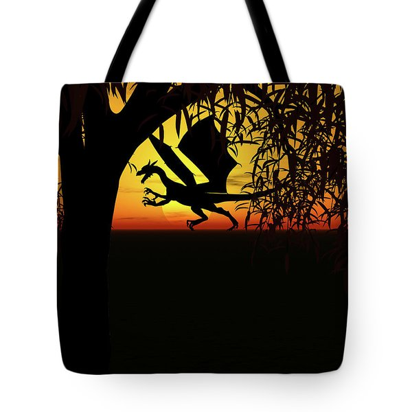 Lights And Shadow Tote Bag by Michele Wilson