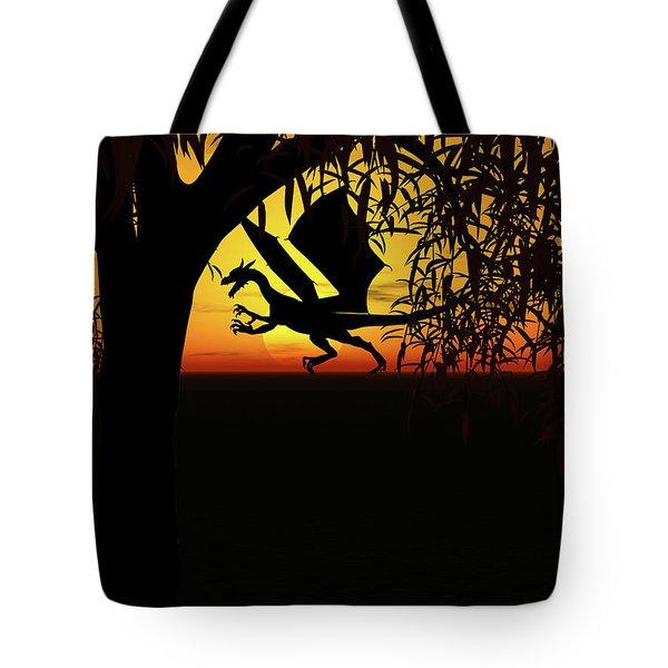 Lights And Shadow Tote Bag