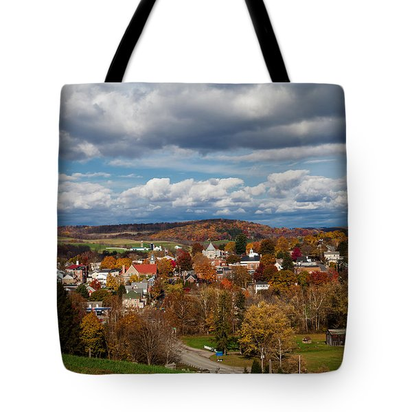 Tote Bag featuring the photograph Ligonier Valley by April Reppucci