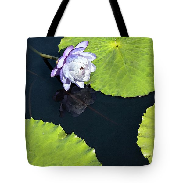 Tote Bag featuring the photograph Lily Love by Suzanne Gaff