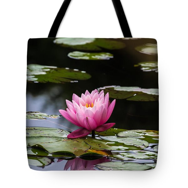 Lily Pad Flower Tote Bag