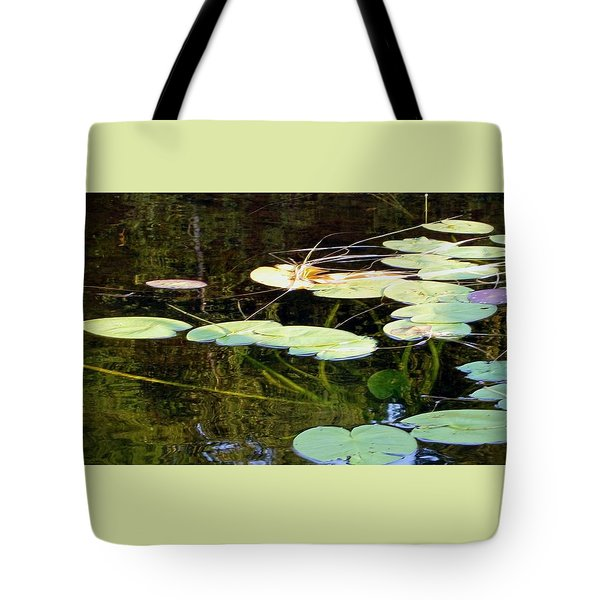 Lily Pads On The Lake Tote Bag