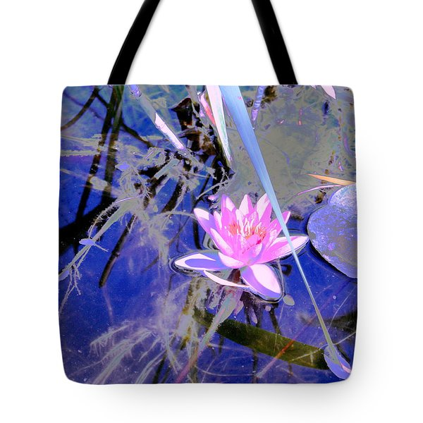 Lily Pond Pink Tote Bag