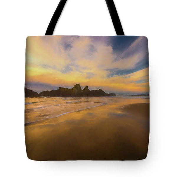 Lines In The Sand 2 Tote Bag