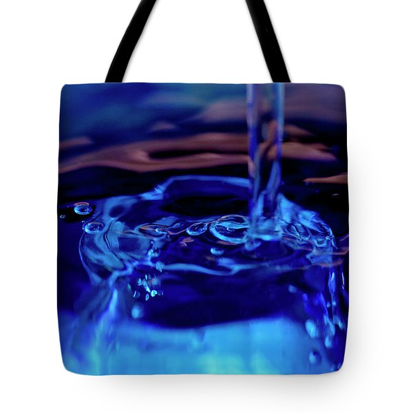 Tote Bag featuring the photograph Liquid  II by Rico Besserdich