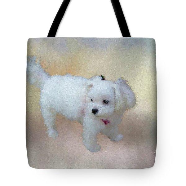 Little Cutie Tote Bag by Eva Lechner