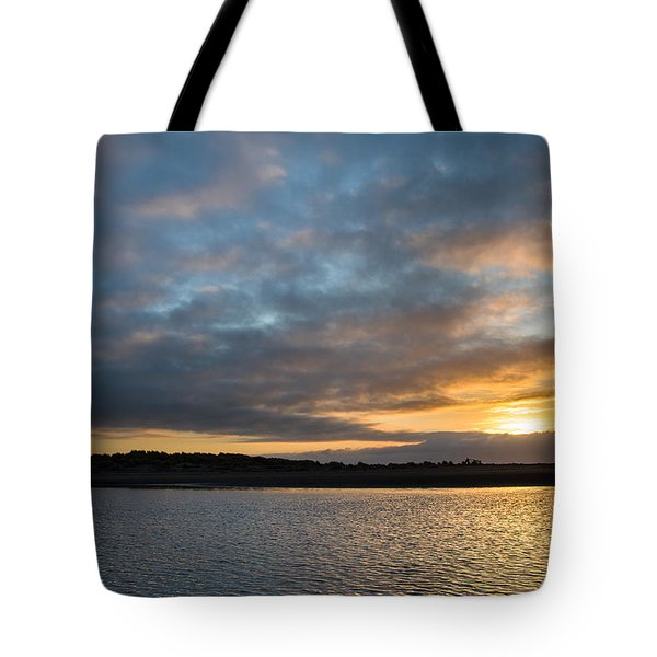 Little River Sunset Tote Bag