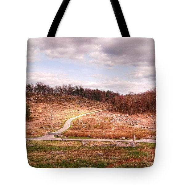 Little Round Top Tote Bag