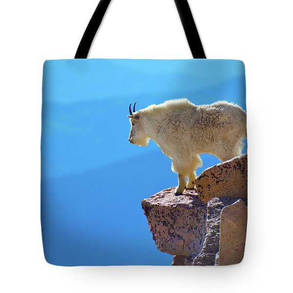 Living On The Edge Tote Bag