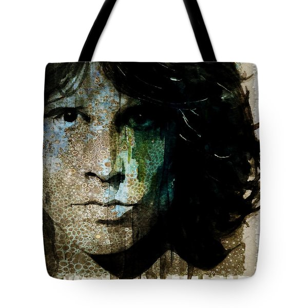 Lizard King / Jim Morrison Tote Bag
