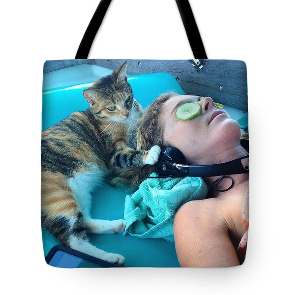 Lizzy Clark Tote Bag